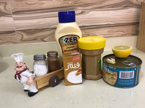 حمص بطحينه (بطريقة المطاعم) recipe step 1 photo