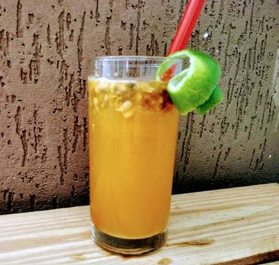 Suco Refrescante de Ponkan e Maracujá