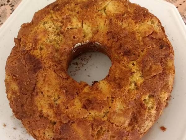 Torta de maçã sem glúten e sem Lactose