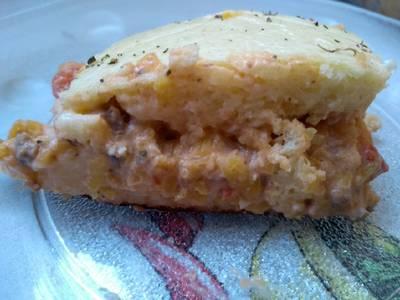 Torta de abobrinha com carne moída
