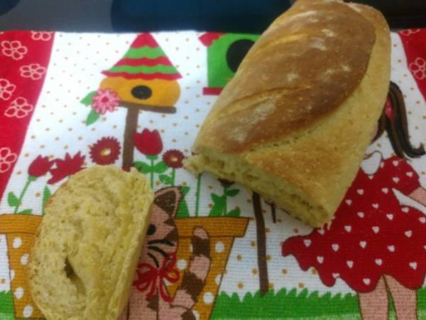 Pão de milho sem leite e sem ovos!