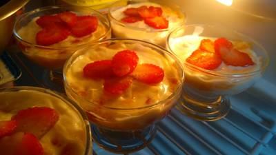 Sobremesa Simples de Iogurte