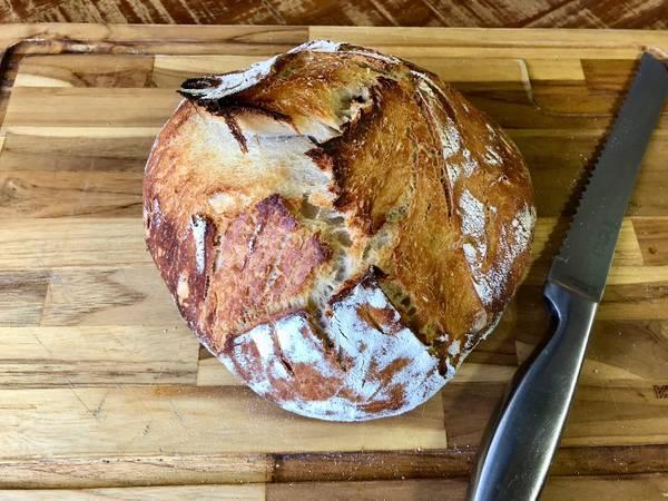 217-Pão na panela de ferro - II