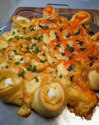Pizza vulcão