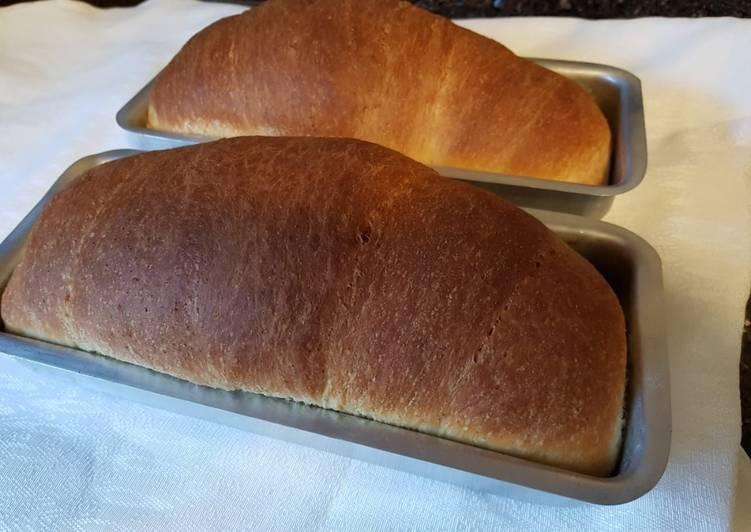 Pão Caseiro Fácil Receita Por Amanda Cookpad