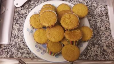 Queque (Cupcake) de cenoura