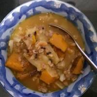 古早味南瓜香菇肉粥