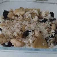 香菇麻油雞飯(電鍋版)
