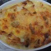 【北海道白醬烤】隨意焗烤義大利麵