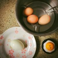 """大同電鍋料理""""超級簡單又健康好吃的水煮蛋"""""""