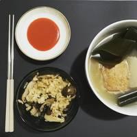 和風香菇栗子炊飯