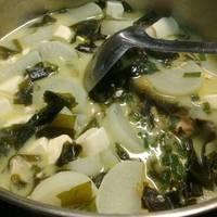 魚片味增湯