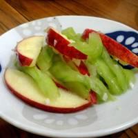 [涼拌蘋果小黃瓜]開胃涼拌菜