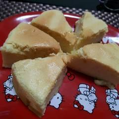 香橙海綿蛋糕 的試煮成品