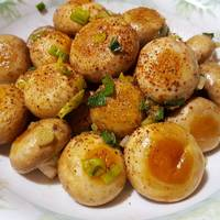 麻油香煎蘑菇