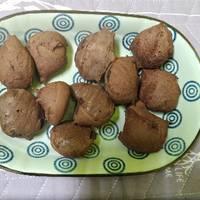 可可莓果qq麵包♥免預拌粉麻糬麵包