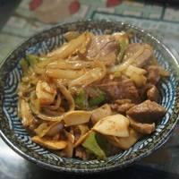 沙茶洋蔥炒牛肉