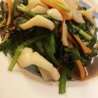 小卷炒韭菜花