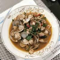 塔香沙茶蛤蜊