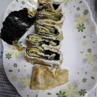 【簡易】海苔煎蛋卷
