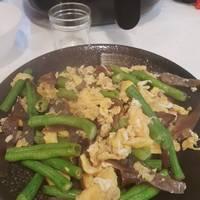 長豆炒雞蛋