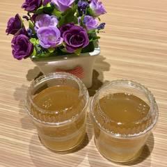 蜂蜜檸檬手洗愛玉 的試煮成品