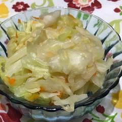 台式泡菜 的試煮成品