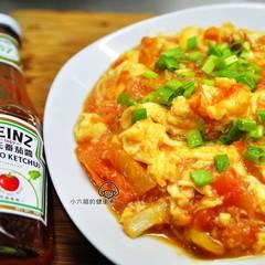 [亨氏番茄醬]蕃茄炒蛋❤滑蛋升級版 的試煮成品