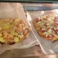 手揉大披薩