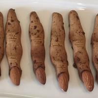 巫婆手指餅乾