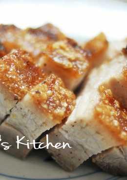 自製脆皮燒肉/燒腩仔