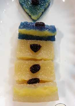 綠豆沙水晶糕~西谷米做的