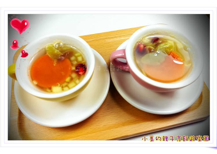酒釀水果年糕湯(大吉大利)