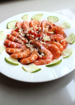 清蒸檸檬蝦