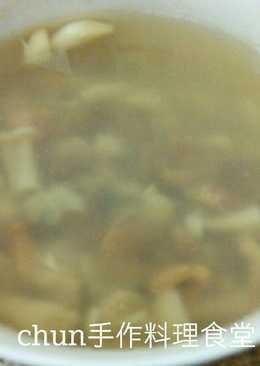 菇菇海鮮清湯