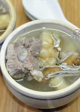 小魚干苦瓜排骨湯(電鍋煮湯)