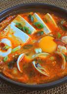 泡菜海鮮豆腐鍋
