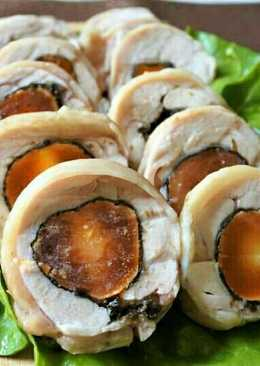 鳳黃雞卷(電鍋料理)