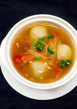 馬鈴薯麻糬丸子湯
