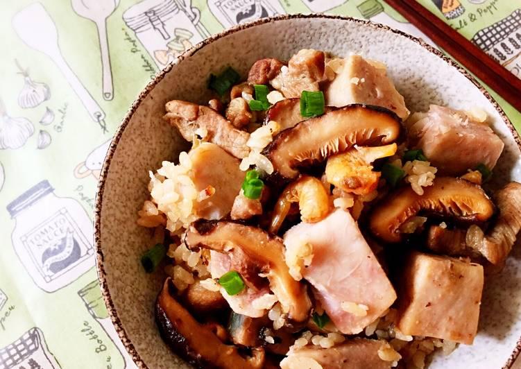 香菇芋頭飯