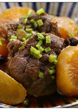燉蘿蔔牛肉
