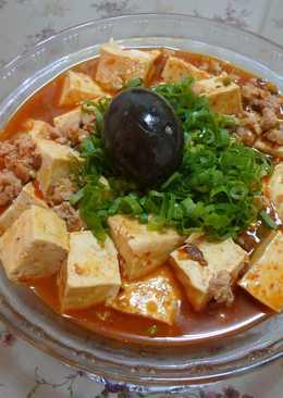 皮蛋麻婆豆腐