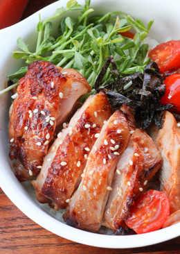 [亨氏番茄醬]番茄柚香雞腿蓋飯