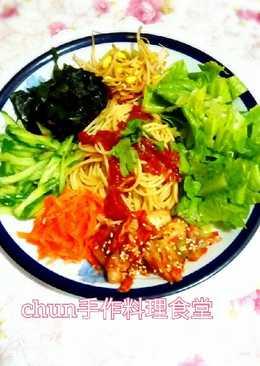 韓式蕃茄義式涼麵
