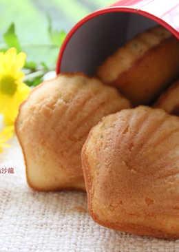 蜂蜜瑪德蓮蛋糕