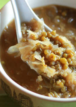 黑糖銀耳綠豆湯(阿基師小撇步)