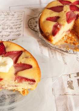 草莓蛋糕 (免烤箱)