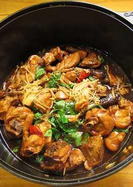 蠔油醬燒雞