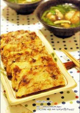 油蔥香菇肉燥糕