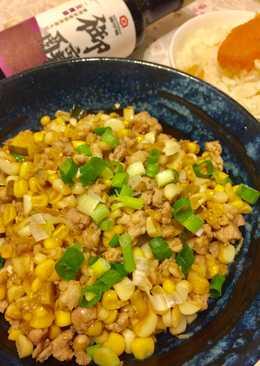 【御釀快炒提味】玉米粒炒肉末